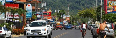 Jaco Town Banner